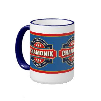 Chamonix Old Label Mug