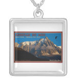 Chamonix - Paragliders Custom Necklace