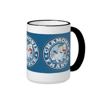 Chamonix Snowman Circle Mug