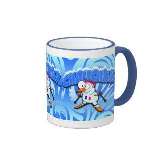 Chamonix Snowman Coffee Mug
