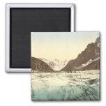 Chamonix Valley - Mer de Glace Fridge Magnets