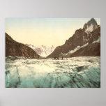 Chamonix Valley - Mer de Glace Poster