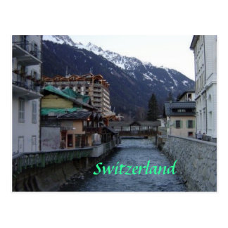Chamonix Village Postcards