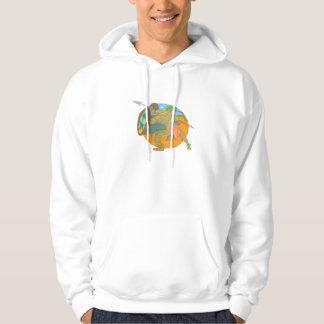 Chamorro Defender Hooded Pullover