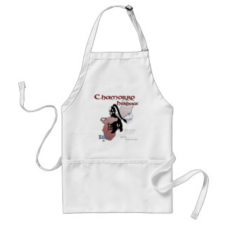 Chamorro Spirit copy Adult Apron