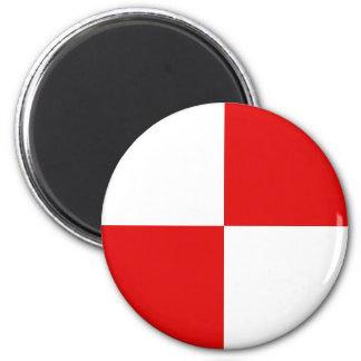 Chamoson, Switzerland 2 Inch Round Magnet