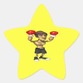 Champ 2 star sticker