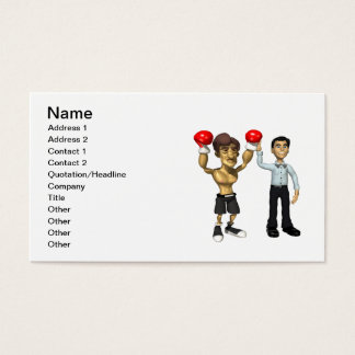 Champ 3 business card