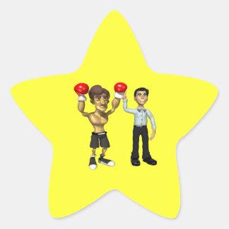 Champ 3 star sticker