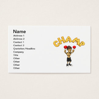 Champ Business Card