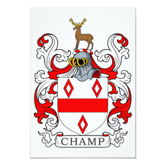 Champ Coat of Arms Card