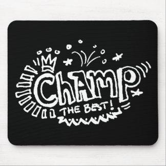 Champ Dark Mouse Pad