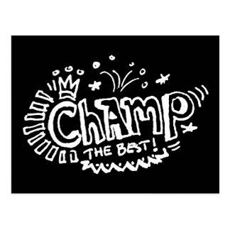 Champ Dark Postcards
