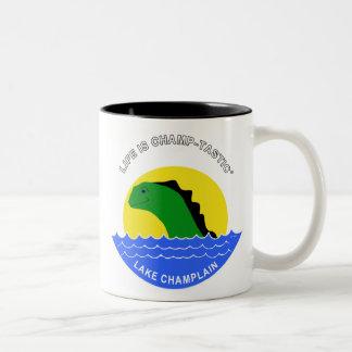Champ Does Coffee Two-Tone Coffee Mug