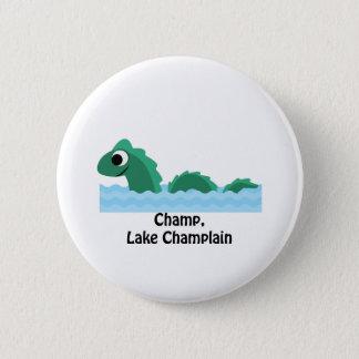 Champ, Lake Champlain Pinback Button