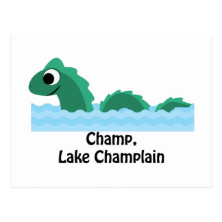Champ, Lake Champlain Postcard