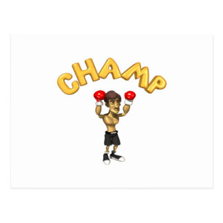 Champ Postcard