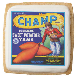 Champ Sweet Potatoes Square Shortbread Cookie
