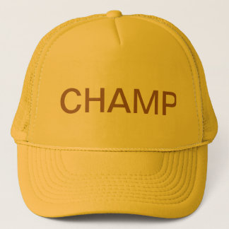 CHAMP Trucker Hat