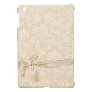 Champagne Acorn Damask Vintage iPad Mini Case