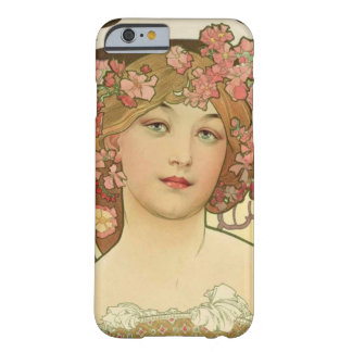 Champagne Alphonse Mucha iPhone 6 Cover Case