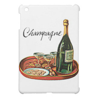 CHAMPAGNE AND BISCUITS VINTAGE PRINT CASE FOR THE iPad MINI