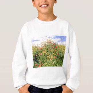 Champagne and Flowers Sweatshirt