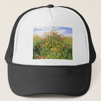 Champagne and Flowers Trucker Hat