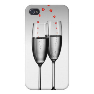 Champagne And Love  iPhone 4/4S Cover