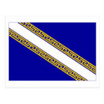 Champagne-Ardenne flag Post Card