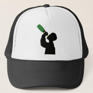 champagne birthday boozer trucker hat