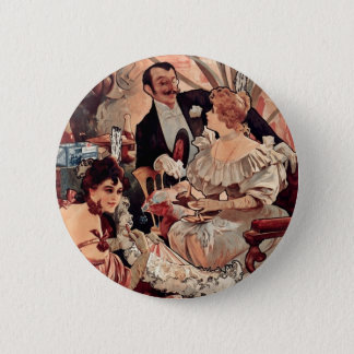 Champagne Biscuits 1896 Button
