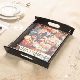 Champagne Biscuits Ad 1896 Serving Tray