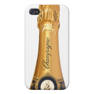 Champagne Bottle iPhone 4 Case