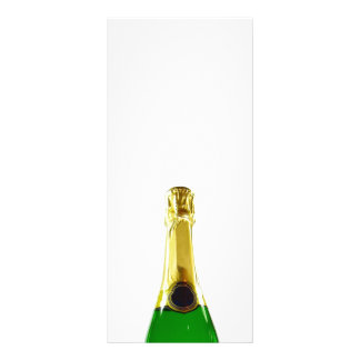 Champagne Bottle Rack Card