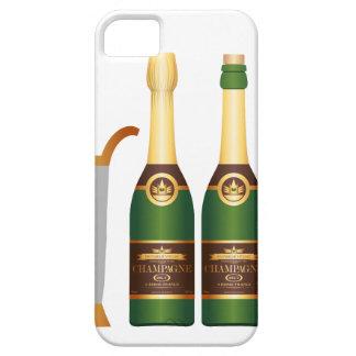 champagne bottles iPhone SE/5/5s case