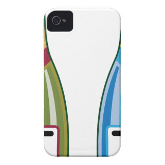 Champagne bottles vector iPhone 4 Case-Mate case