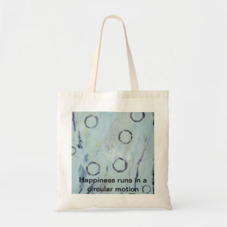 Champagne bubbles budget tote bag