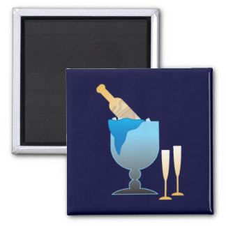Champagne Bucket Magnet