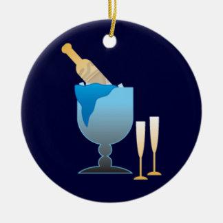 Champagne Bucket Ornaments