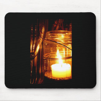 Champagne by Candlelight Mouse Pad