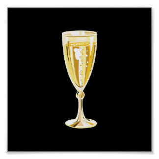 Champagne by SRF Poster