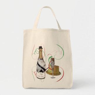 Champagne Canvas Tote Bag