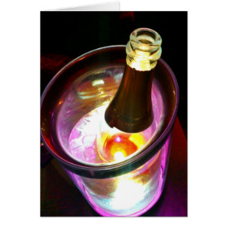 Champagne Celebration Card