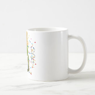 Champagne Celebration Classic White Coffee Mug