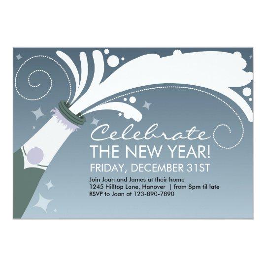 Champagne Celebration Invitations