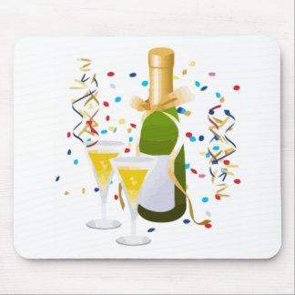 Champagne Celebration Mouse Pad