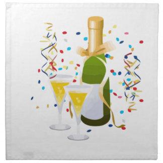 Champagne Celebration Napkins
