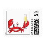 Champagne Crab stamps