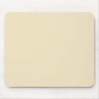 Champagne Cream Pattern Chic Fashion Color Trend Mouse Pad